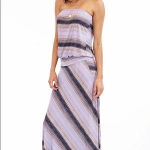 7d8e4ccd3b7f Veronica M Dresses - Veronica M Striped Maxi Dress NWT!